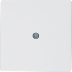 10196089 Centre Plate for Cable outlet,  White