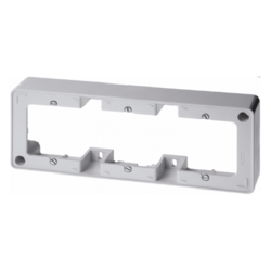 10310069 Frame Surface Mount,  White 3-Gang