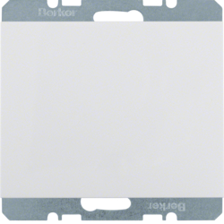 10457009 Blankplate with c/plate - K1 PW