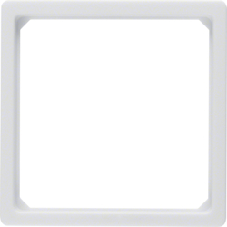 11096079 Adaptor Ring Centre Plate 50X50, White