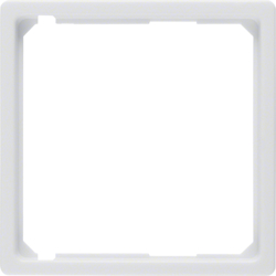 11096089 Intermediate Ring Central Plate,  White