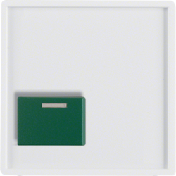 12516089 Centre Plate with Green Button