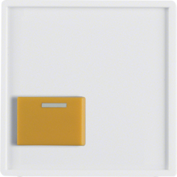12526089 Centre Plate with Yellow Button