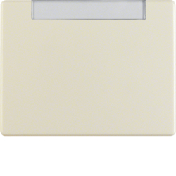 14260002 Rocker with labelling field,  Berker Arsys,  white glossy