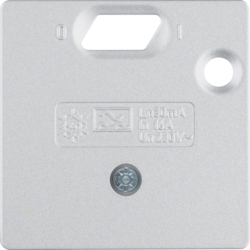 14931404 55 x 50 mm centre plate for RCD protect.