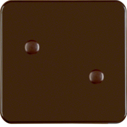 155901 Rocker screw-on Splash-protected flush-mounted IP44, brown glossy