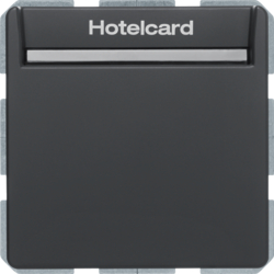16406096 Hotel card switch electronic Q.x anthr.