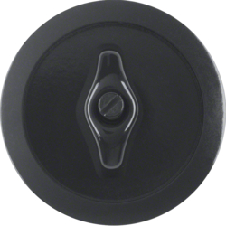 164701 Centre Plate with Toggle,  Black Glossy