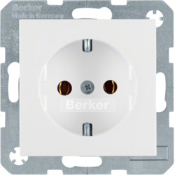 41438989 SOCKET OUTLET S.1/B.1 PW