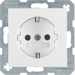 47238989 SOCKET OUTLET B1 PW