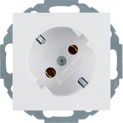 47278989 SOCKET OUTLET B1 PW