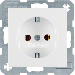 47431909 SOCKET OUTLET B1 PW