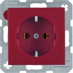 47431912 SOCKET OUTLET B1 RED