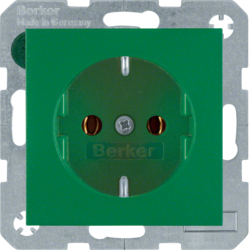 47431913 SOCKET OUTLET B1 GREEN