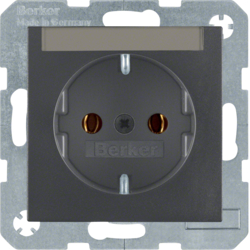 47501606 SOCKET OUTLET B1 ANTHRACI