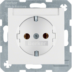 47501909 SOCKET OUTLET B1 PW