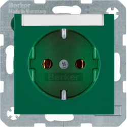 47508903 SOCKET OUTLET B1 RED