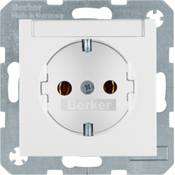 47508989 SOCKET OUTLET B1 RED