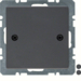 10096076 Blind Plug Centre Plate - Screw-on Anthr