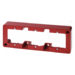 10310062 Frame Surface Mount,  Red 3-Gang