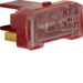 167603 Glow lamp unit with N-terminal Light control,  red