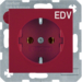 47438922 SOCKET OUTLET B1 RED