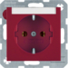 47508902 SOCKET OUTLET B1 RED