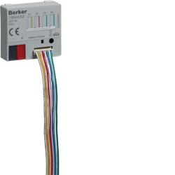 75644002 Interfaccia universale a quadrupla da incasso Con accoppiatore bus integrato,  KNX