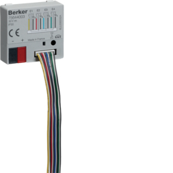 75644003 Interfaccia universale quadrupla con 4 uscite LED,  da incasso Con accoppiatore bus integrato,  KNX