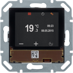 80440100 Regolatore di temperatura KNX con display a colori,  accoppiatore bus integrato,  KNX